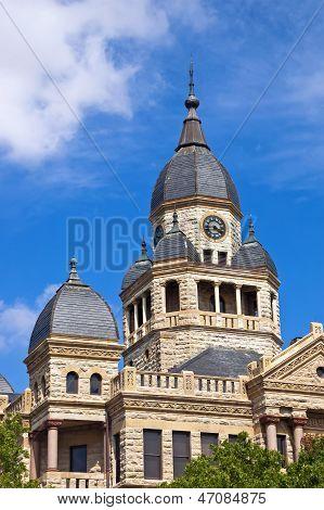 Denton County Courthouse in Denton Texas