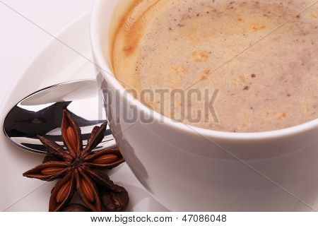 Cu Of Cappuccino And Anise