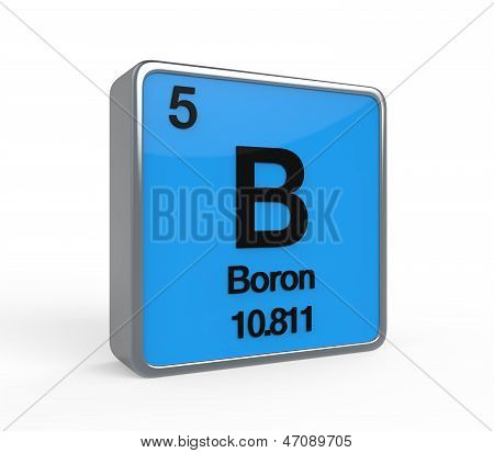 Boron Element Periodic Table