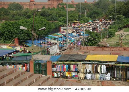 Market In Delhi, India