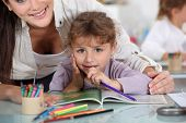 stock photo of day care center  - Day care center - JPG