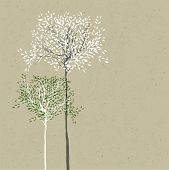image of reuse  - Trees background - JPG
