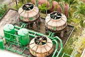 pic of wastewater  - The wastewater treatment plant of a hotel - JPG