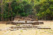 stock photo of dong  - Dong Muang Toey Ancient Ruins at Yasothon - JPG