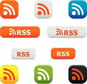 Rss Buttons And Symbols