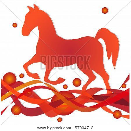 horse sihouette
