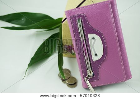 The Purple Wallet