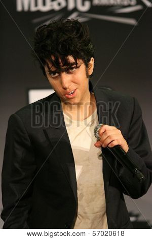 Lady Gaga in the 2011 MTV Video Music Awards Press Room, Nokia Theatre LA Live, Los Angeles, CA. 08-28-11