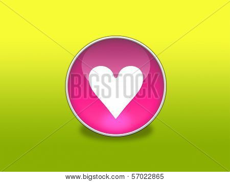 Web Button - Hart