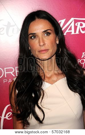 Demi Moore at 3rd Annual Variety's Power Of Women Event Presented By Lifetime, Four Seasons Hotel, Beverly Hills, CA 09-23-11