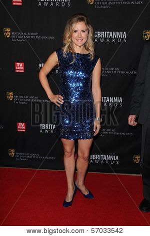 Amelia Jackson-Gray at the BAFTA Los Angeles 2011 Britannia Awards, Beverly Hilton Hotel, Beverly Hills, CA 11-30-11