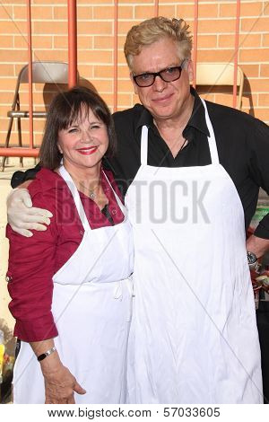 Cindy Williams, Christopher McDonald at the Hollywood Chamber Of Commerce 17th Annual Police And Fire BBQ, Private Location, Hollywood, CA 11-30-11