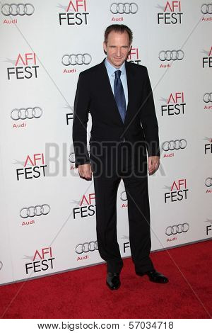 Ralph Fiennes at the 2011 AFI FEST