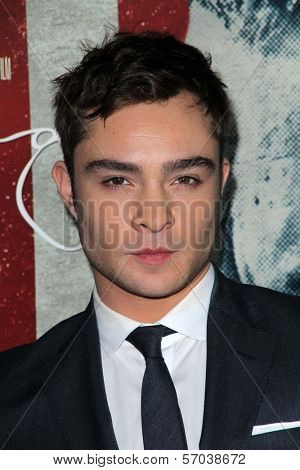Ed Westwick at the AFI Fest 2011 Opening Night Gala Premiere of