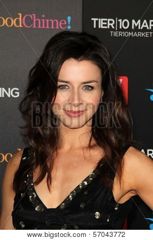 Caterina Scorsone at TV Guide Magazine's Annual Hot List Party, Greystone Mansion Supperclub, Beverly Hills, CA 11-07-11