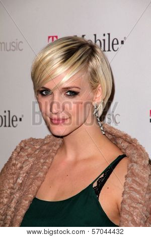 Ashlee Simpson at Google And T-Mobile Celebrate The Launch Of Google Music, Mr. Brainwash Studios, Los Angeles, CA 11-16-11