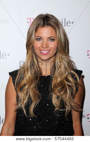 Amber Lancaster at Google And T-Mobile Celebrate The Launch Of Google Music, Mr. Brainwash Studios, Los Angeles, CA 11-16-11