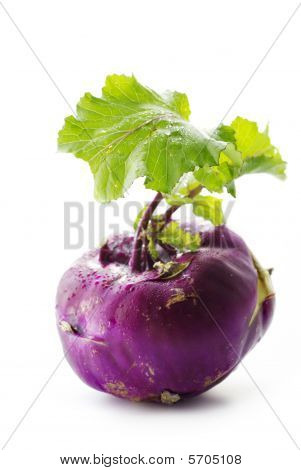 Violet Turnip With Green Top