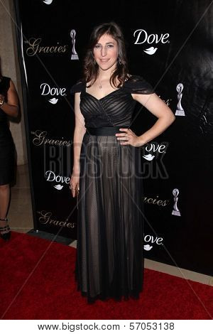 Mayim Bialik at the 36th Annual Gracie Awards Gala, Beverly Hilton Hotel, Beverly Hills, CA. 05-24-11