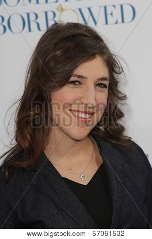 Mayim Bialik at the Los Angeles Premiere of