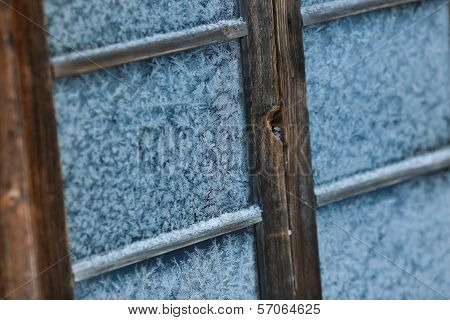 Ice On A Window