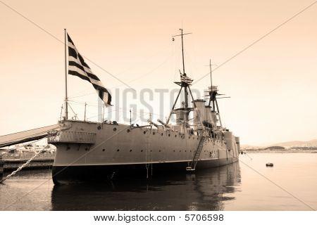 Ww I Flagship Of Greek Navy
