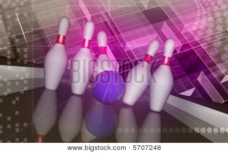 Tenpin and dollar bowl