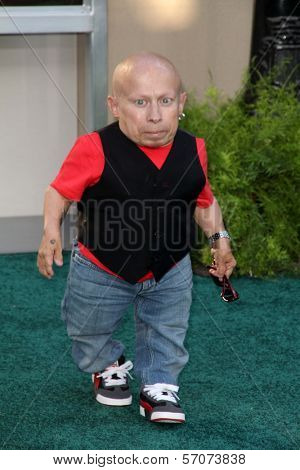 Verne Troyer at the