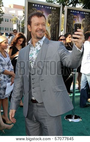 Donnie Wahlberg at the