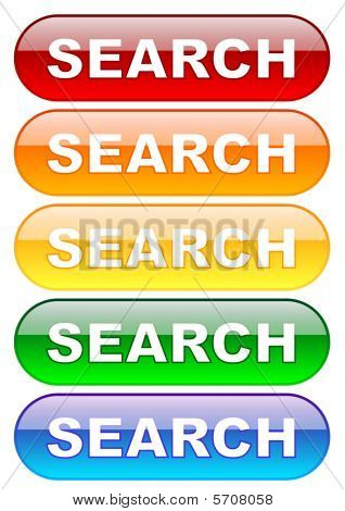 Search Buttons Set