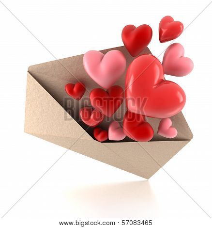 Hearts Of The Envelope