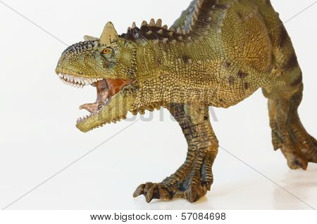 A Flesh Eating Carnotaurus Dinosaur, Meat Eating Bull