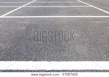 Empty Space in a Parking Lot