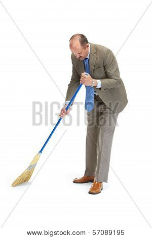 Businessman Sweeps