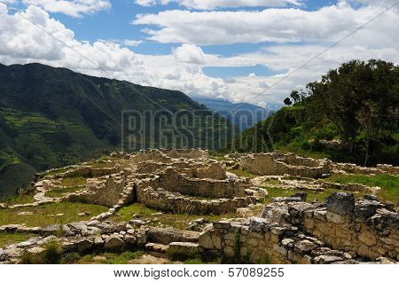 Peru, Kuelap Archeological Site Near Chachapoyas