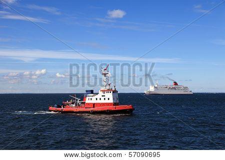 Maneuvers At Sea