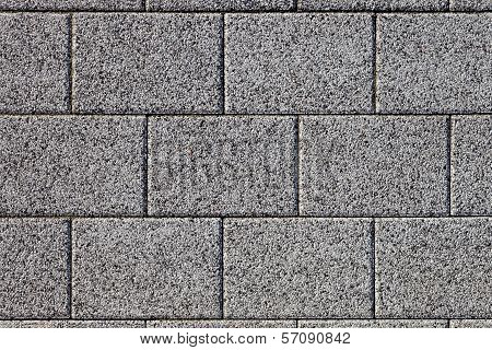 Gray Cobblestone Pavement