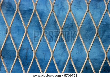 Metal Fence Grunge Texture