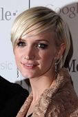 Ashlee Simpson at Google And T-Mobile Celebrate The Launch Of Google Music, Mr. Brainwash Studios, L