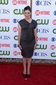 Mayim Bialik at the CBS, The CW And Showtime TCA Party, The Pagoda, Beverly Hills, CA 08-03-11