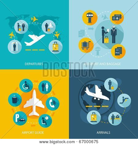 Airport terminal flight services