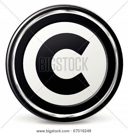 Vector Copyright Icon