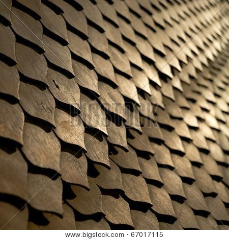 Pattern Wooden Fretwork Background