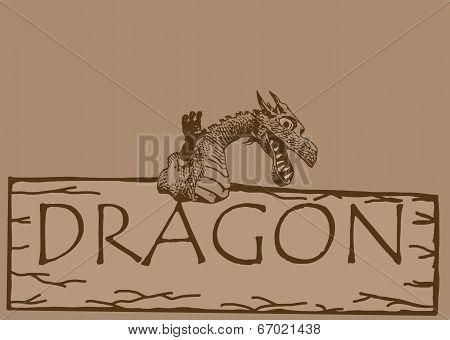 Vintage dragon