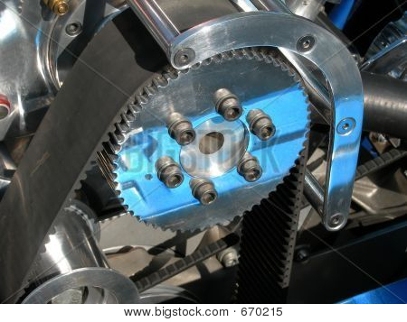 Automobile Gear With Belt