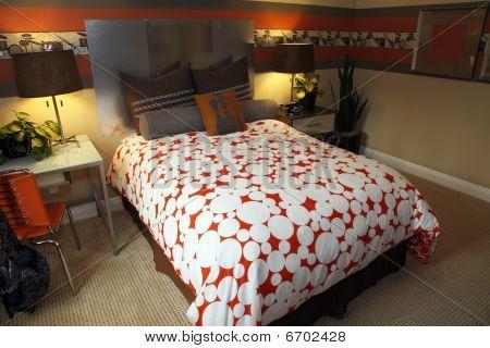 Luxury home bedroom decor