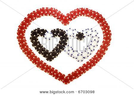 Hearts Made Of Chips