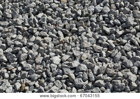Gravel As Background Or Texture