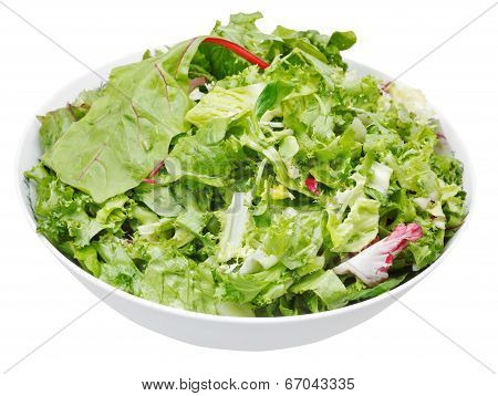 Fresh Italian Lettuce Mix In Bowl