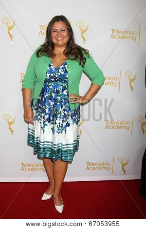 LOS ANGELES - JUN 19:  Angelica McDaniel at the ATAS Daytime Emmy Nominees Reception at the London Hotel on June 19, 2014 in West Hollywood, CA